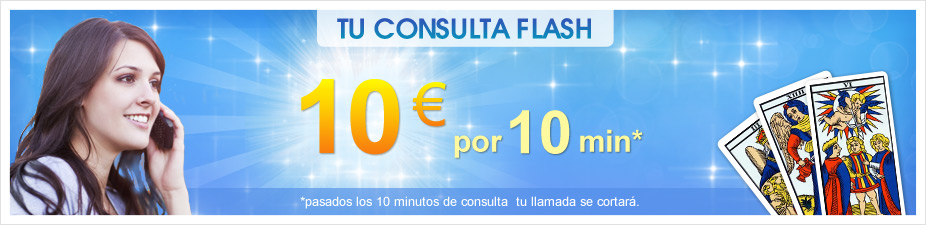 Consulta flash: 10minutos por 10 €